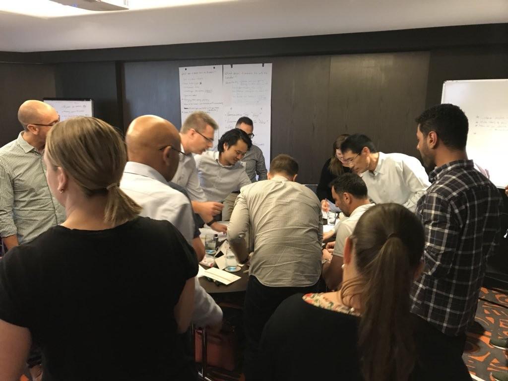 ING Australia demonstrating collaborative working