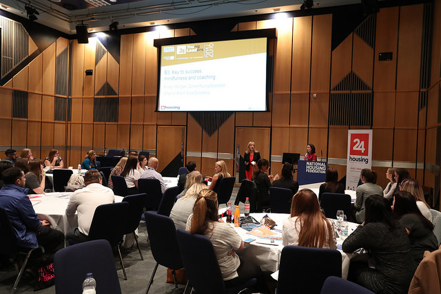 The Young Leaders Conference was organised by the National Housing Federation