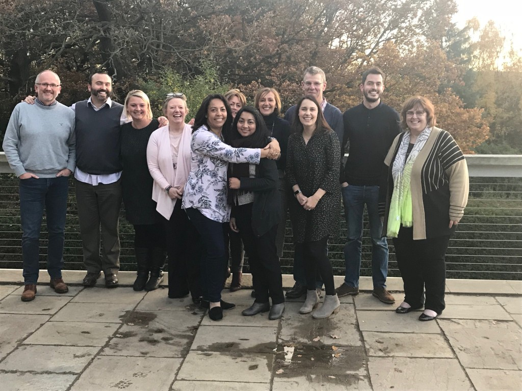 Participants from our ILM Level 5 Certificate in Coaching and Mentoring enjoying Yorkshire Sculpture Park
